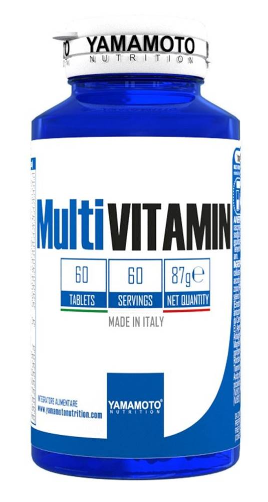 Yamamoto MultiVITAMIN (komplexný multivitamín) - Yamamoto 60 tbl.