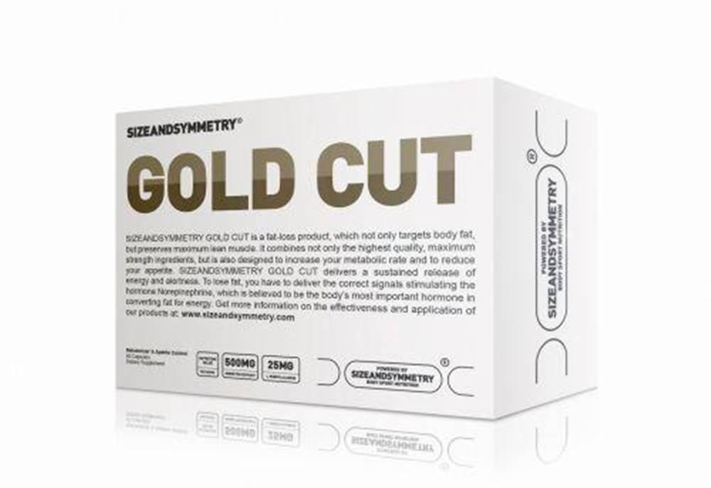 Sizeandsymmetry Sizeandsymmetry GOLD CUT, 60 kapslí