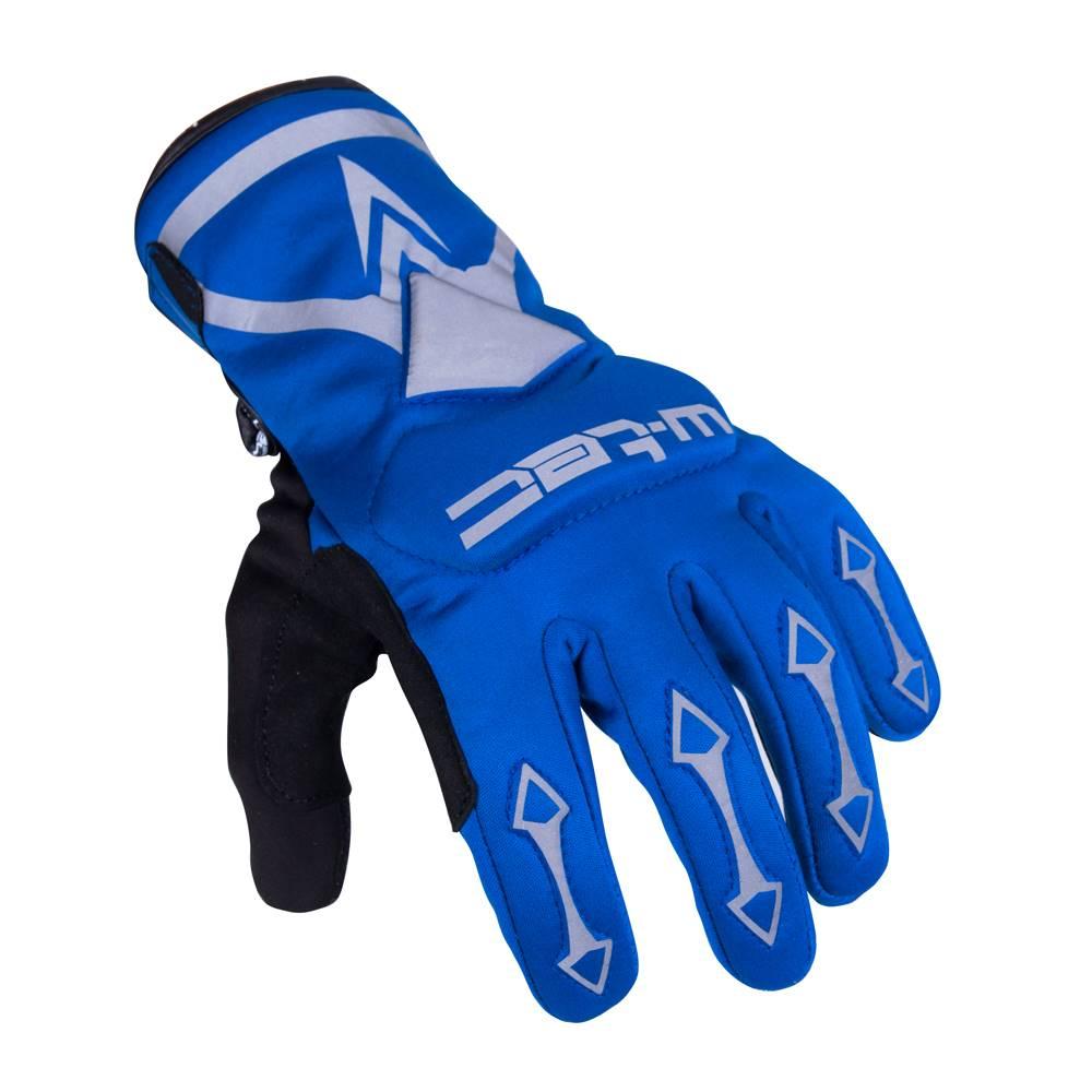 W-Tec Cyklo a moto rukavice W-TEC Belter B-6044 modrá - XS