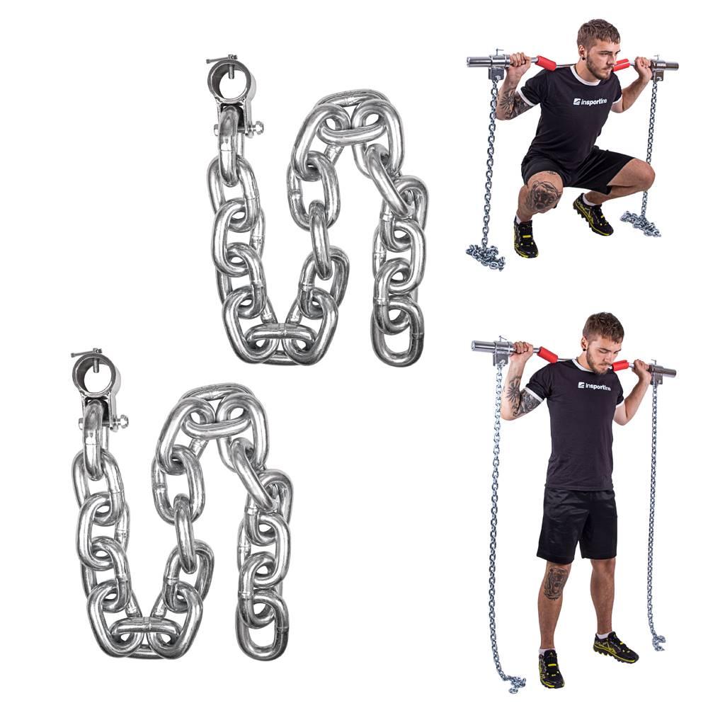 Insportline Vzpieračské reťaze inSPORTline Chainbos 2x25 kg