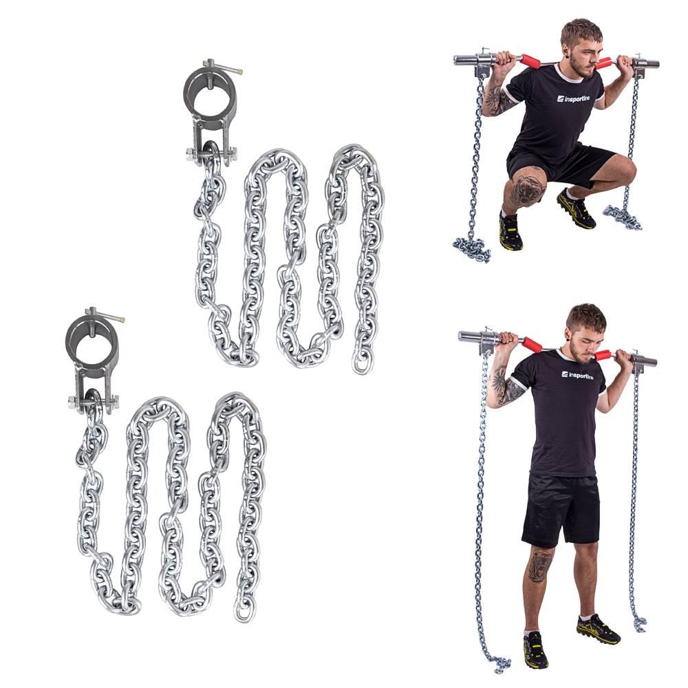 Insportline Vzpieračské reťaze inSPORTline Chainbos 2x5 kg