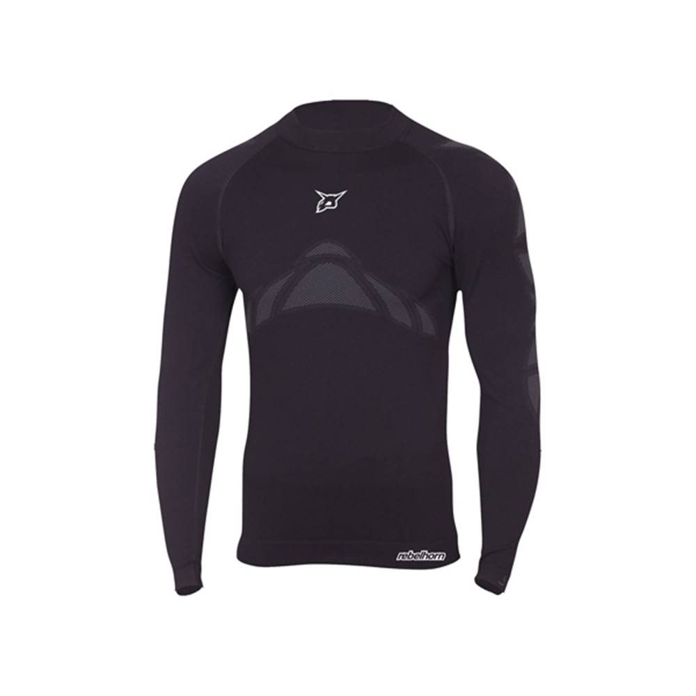 Rebelhorn Moto thermo tričko Rebelhorn Active Jersey čierna - XS/S
