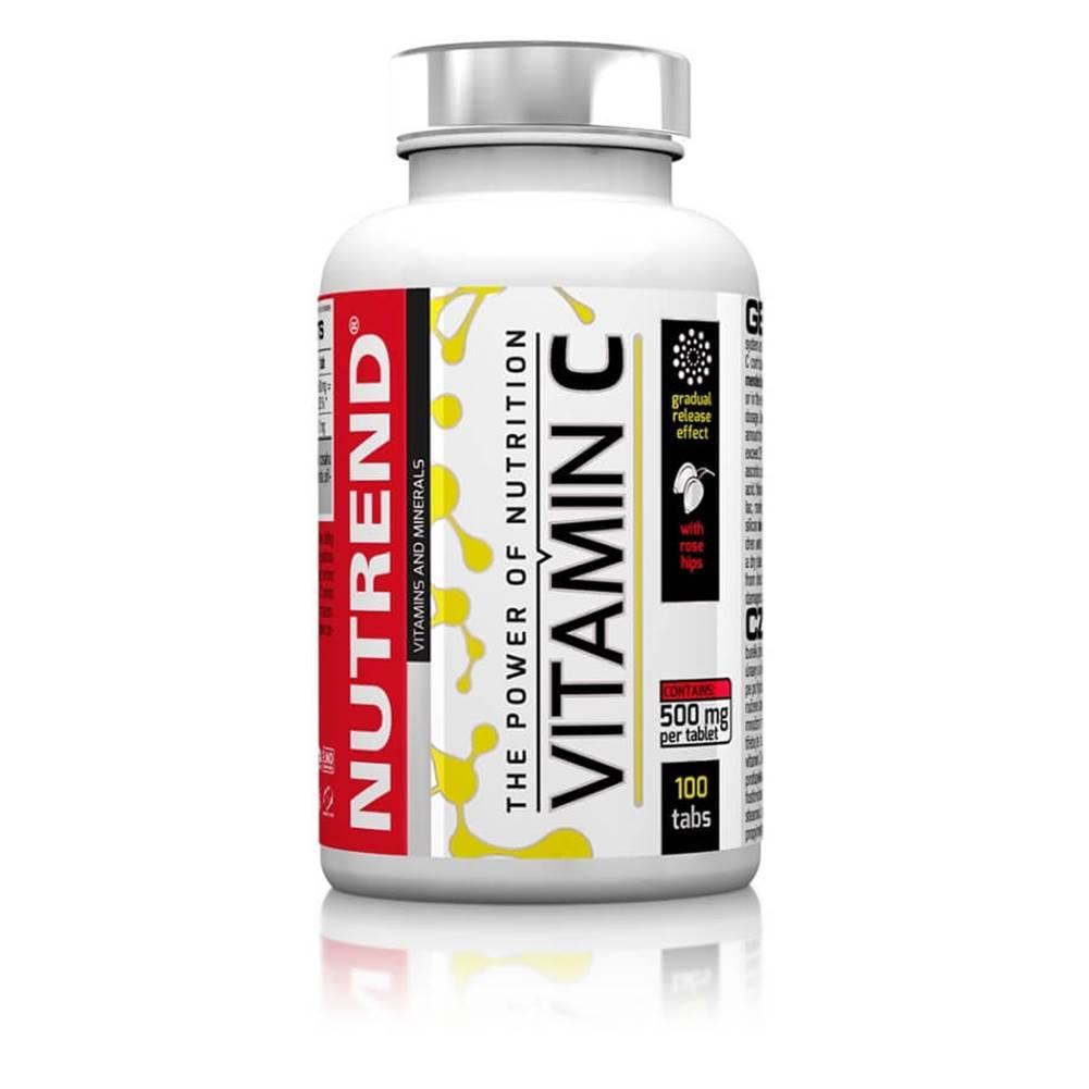 Nutrend Tabletky Nutrend Vitamín C so šípkami, 100 tabliet