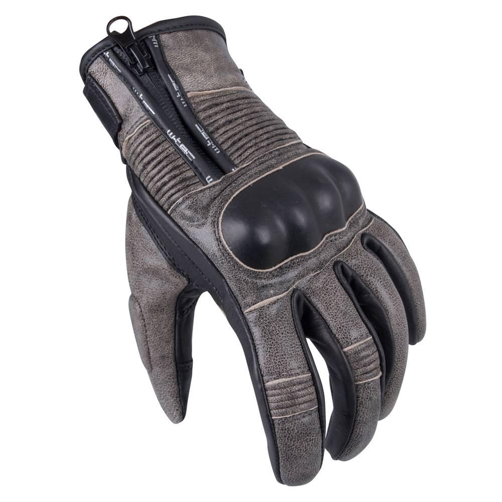 W-Tec Pánske moto rukavice W-TEC Davili čierno-hnedá - S