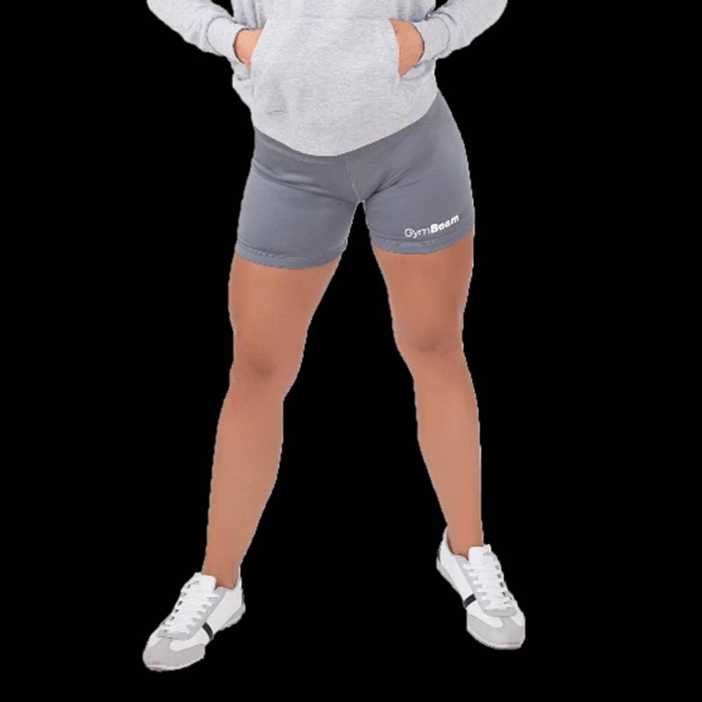 GymBeam GymBeam Dámske fitness šortky Fly-By Grey  L
