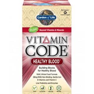 Garden of Life Vitamín Healthy Blood RAW 60 kapslí