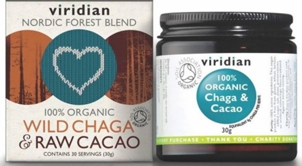 Viridian Viridian BIO Wild Chaga&Raw Cacao Organic 30 g