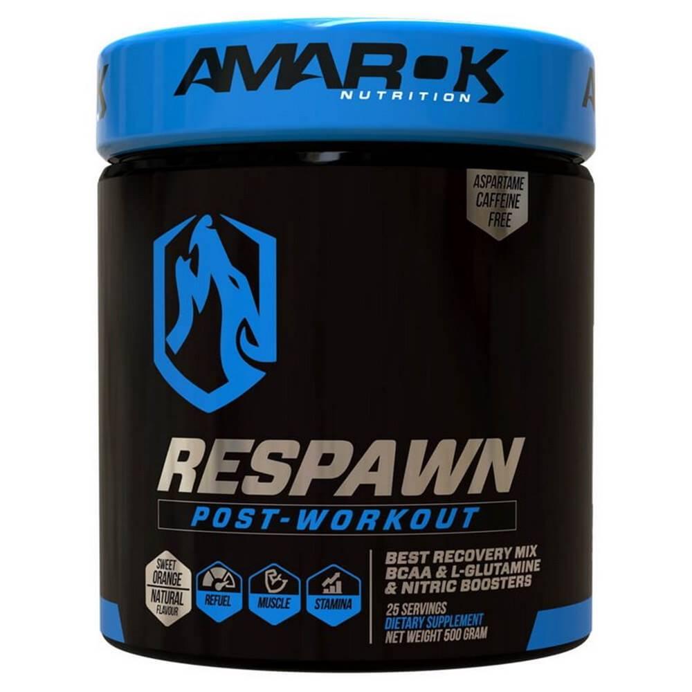 Amarok Nutrition Black Line Respawn Post-Workout - Amarok Nutrition 500 g Orange
