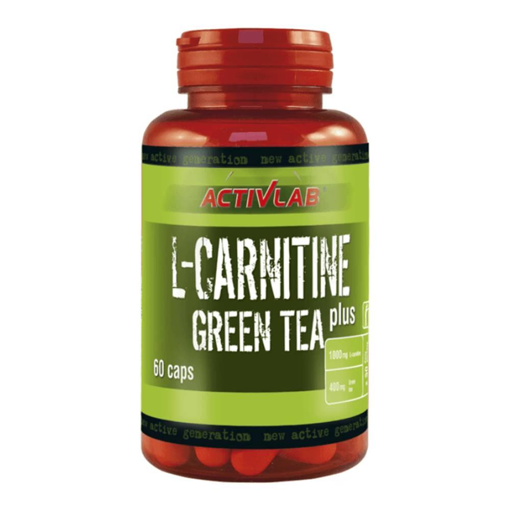 ActivLab L-Carnitine + Green Tea 60 kaps - ActivLab