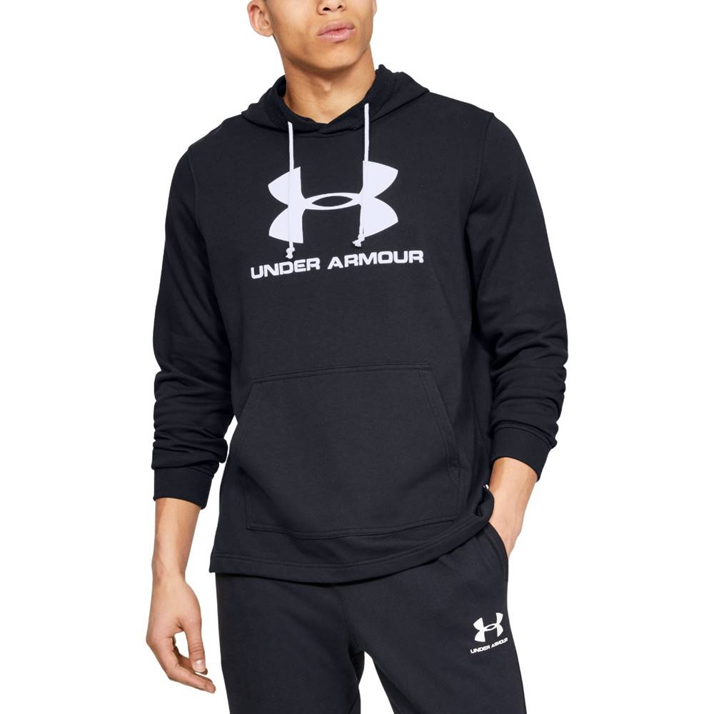 Under Armour Under Armour Sportstyle Terry Logo Hoodie M 1348520-001  S